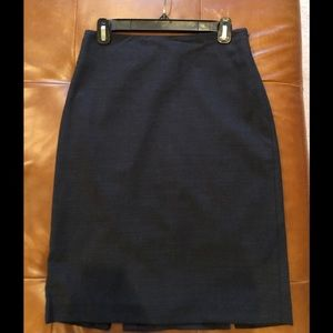 Ann Taylor skirt In charcoal, perfect for work